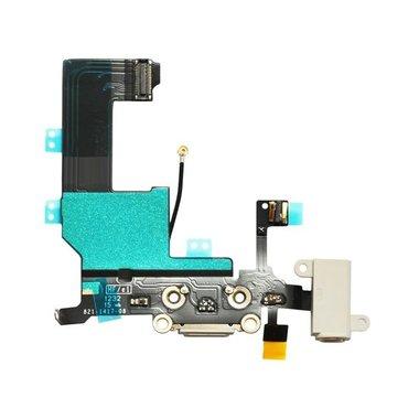 Dockconnector / laadconnector voor Apple iPhone 5 Wit