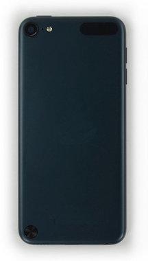 Back cover aluminium achterkant Zwart voor de Apple iPod Touch 5