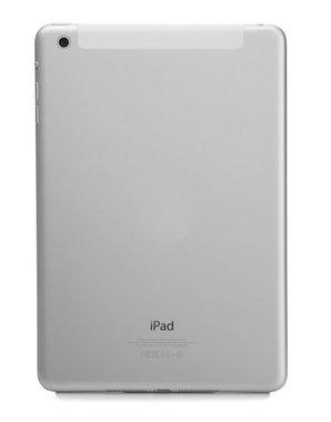 Aluminium achterkant backcover voor Apple iPad Air 4G Versie wit/zilver