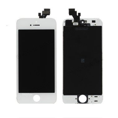 LCD display assembly voor Apple iPhone 5 wit refurbished