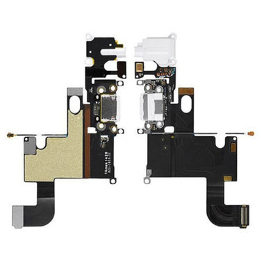 Dockconnector met audio-ingang voor Apple iPhone 6 Wit