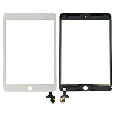 Touchscreen digitizer voor Apple iPad Mini 3 met IC flex wit