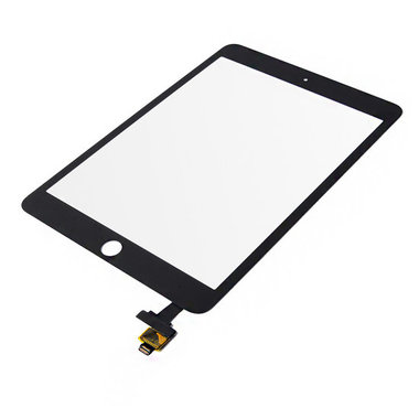 Touchscreen digitizer voor Apple iPad Mini 3 met IC flex zwart