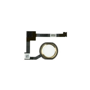 Home button incl. flex kabel voor de Apple iPad Air 2 goud