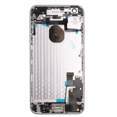 Achterkant compleet met small parts voor Apple iPhone 6plus Zilver OEM