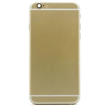 Achterkant compleet met small parts voor Apple iPhone 6plus Goud OEM