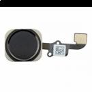 Home button knop flex voor de Apple iPhone 6s 4.7 en 6s Plus 5.5 Zwart