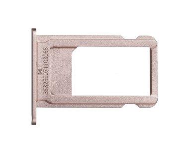 Simkaart houder voor Apple iPhone 6S Plus Rosé Goud