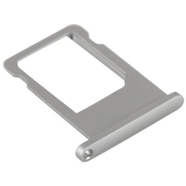 Simkaart houder voor Apple iPhone 6S Plus Zilver