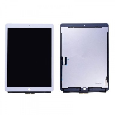 Digitizer / touchscreen met LCD voor Apple iPad Pro 12.9-inch 1gen Wit