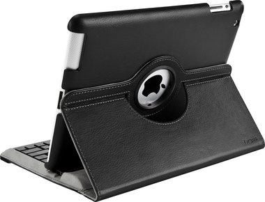 iPad 2/3/4 Case 360° roteerbaar Zwart
