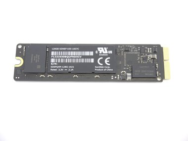 128GB SSD voor Apple MacBook Pro Retina A1502 en A1398 en Air A1466 en A1465 Late 2013
