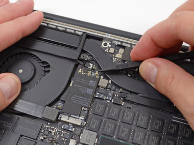 Wi-Fi reparatie voor de Apple MacBook Pro Retina A1398