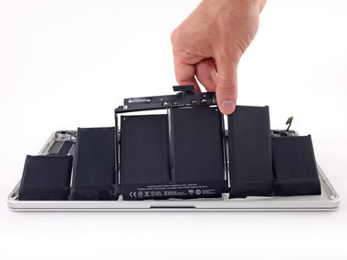 Accu vervanging voor de Apple MacBook Pro Retina A1398