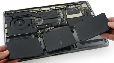 Accu vervanging voor de Apple MacBook Pro OLED 13-inch A1706