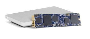 OWC 480GB Aura Pro X SSD + Envoy kit Mac Pro 2013
