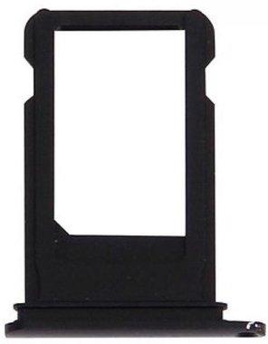 Simkaart houder voor de Apple iPhone 7/7 plus Zwart