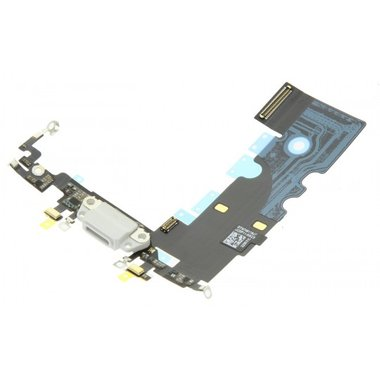 Dockconnector met audio-ingang Apple iPhone 8 Wit