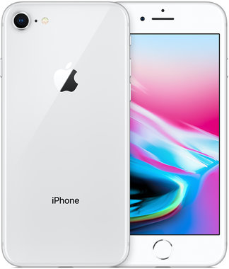 Apple iPhone 8 zilver wit 64GB refurbished