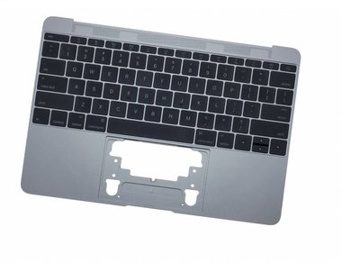 Topcase incl. keyboard Apple MacBook 12-inch A1534 Space Grey