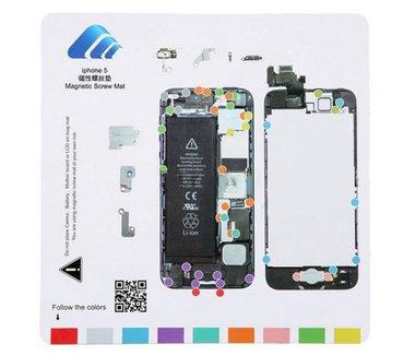 Apple iPhone 5 schroevenkaart magnetisch (demontage hulp)