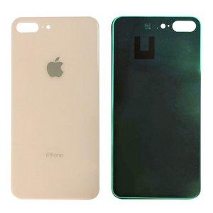 Achterkant back cover glas met logo voor Apple iPhone 8 Plus Gold