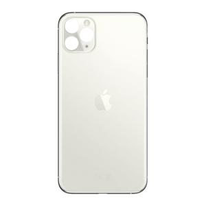 Achterkant back cover glas met logo voor Apple iPhone 11 Pro Silver
