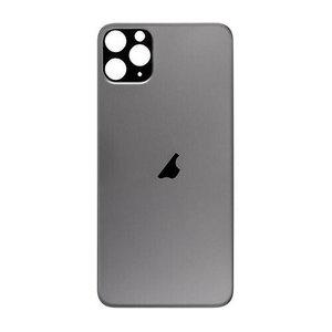 Achterkant back cover glas met logo voor Apple iPhone 11 Pro Max Space Grey