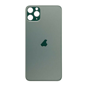 Achterkant back cover glas met logo voor Apple iPhone 11 Pro Max Midnight Green