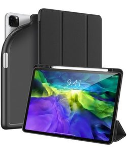 Dux Ducis OSOM Series Case met Apple Pencil houder iPad  Pro 11-inch 2020 en 2021 Zwart