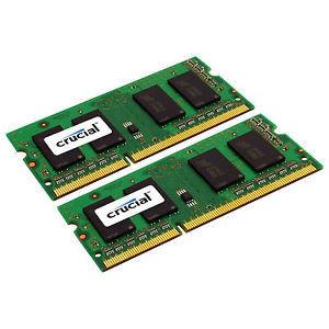 2X 8GB 16GB DDR3 RAM Werkgeheugen 1600MHz voor Apple Macbooks