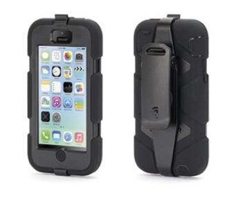 Apple iPhone 5C Griffin Survivor Case Zwart