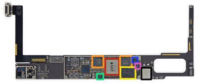 Laadpunt dock connector reparatie voor Apple iPad air 2