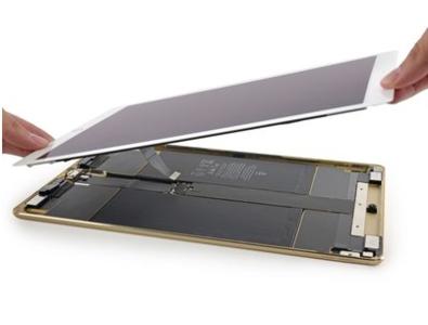 Touchscreen + LCD Wit vervanging voor de iPad Pro 12,9-inch (2nd Gen)